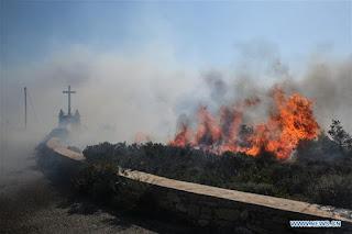φωτιά στα Κύθηρα
