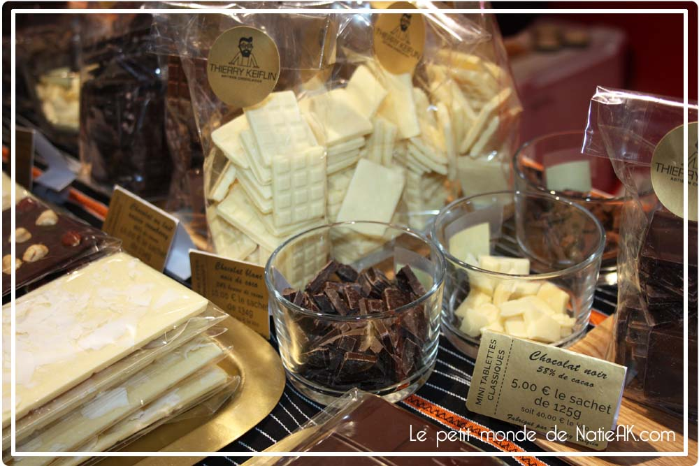 Thierry Keflin, artisan chocolatier au salon du chocolat