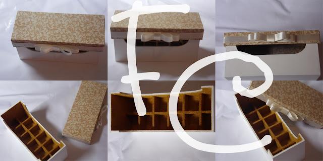 Caixinha MDF - Esmalte