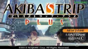 Download Akiba's Trip Plus PPSSPP CSO High Compress 159mb