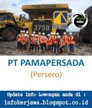 Lowongan Kerja PT PAMAPERSADA