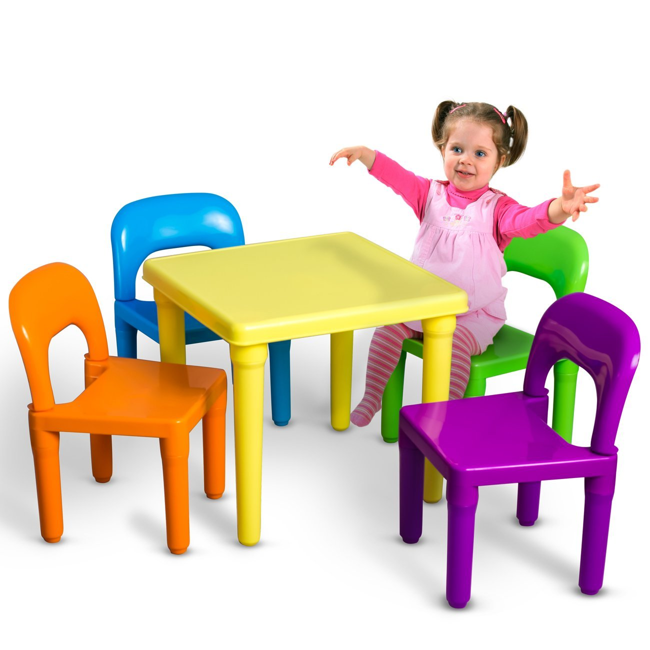 Total Fab Children s Plastic Table and Chair Sets