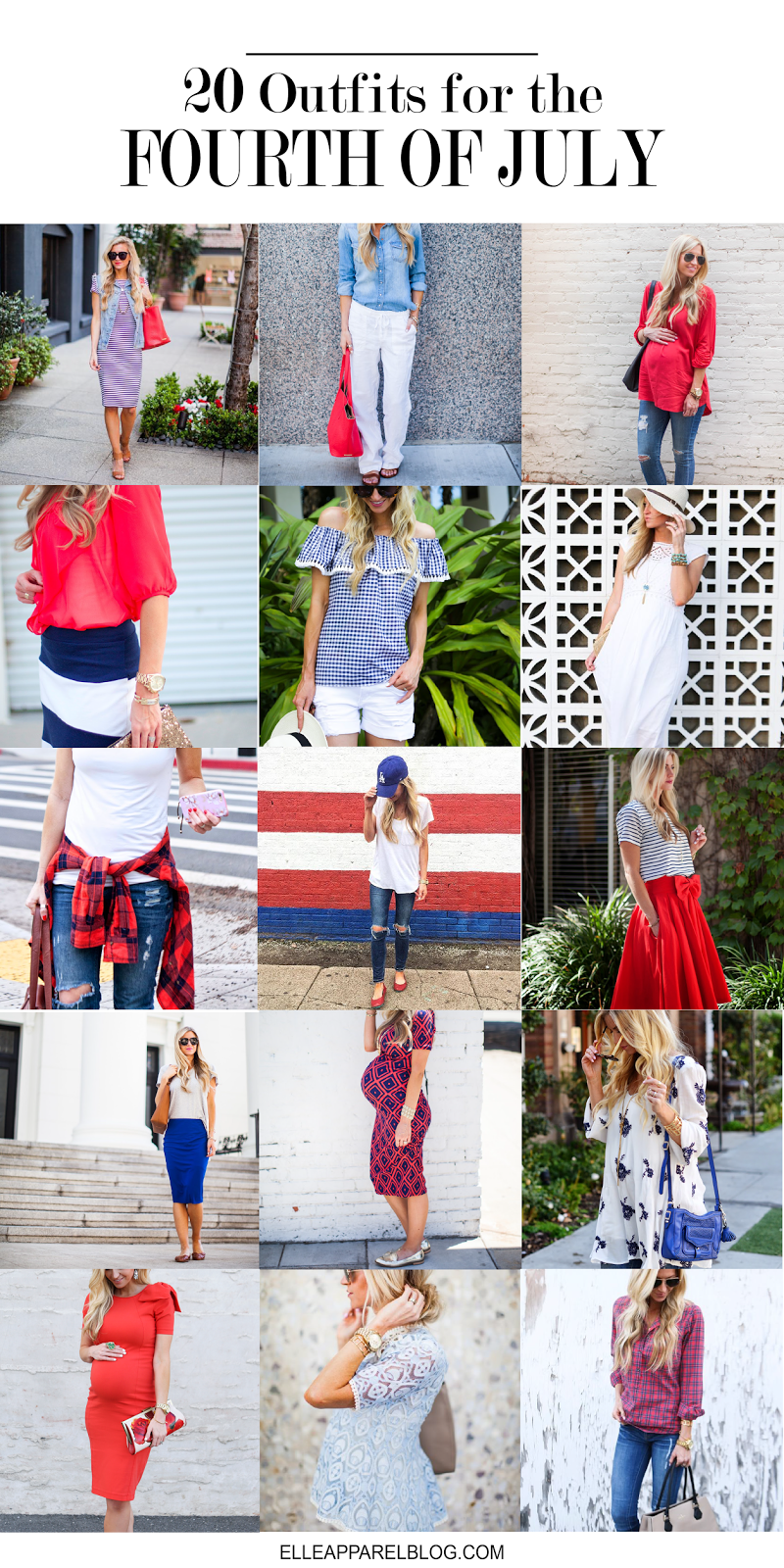 20 OUTFIT IDEAS TO HELP YOU DECIDE WHAT TO WEAR ON THE 4TH OF JULY