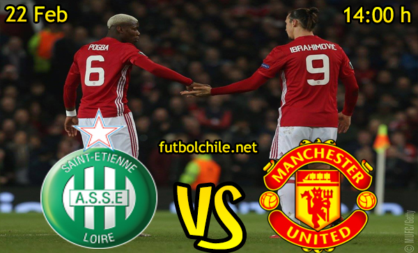 Ver stream hd youtube facebook movil android ios iphone table ipad windows mac linux resultado en vivo, online: Saint-Étienne vs Manchester United