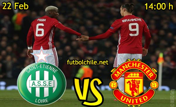Ver stream hd youtube facebook movil android ios iphone table ipad windows mac linux resultado en vivo, online: Saint-Étienne vs Manchester United