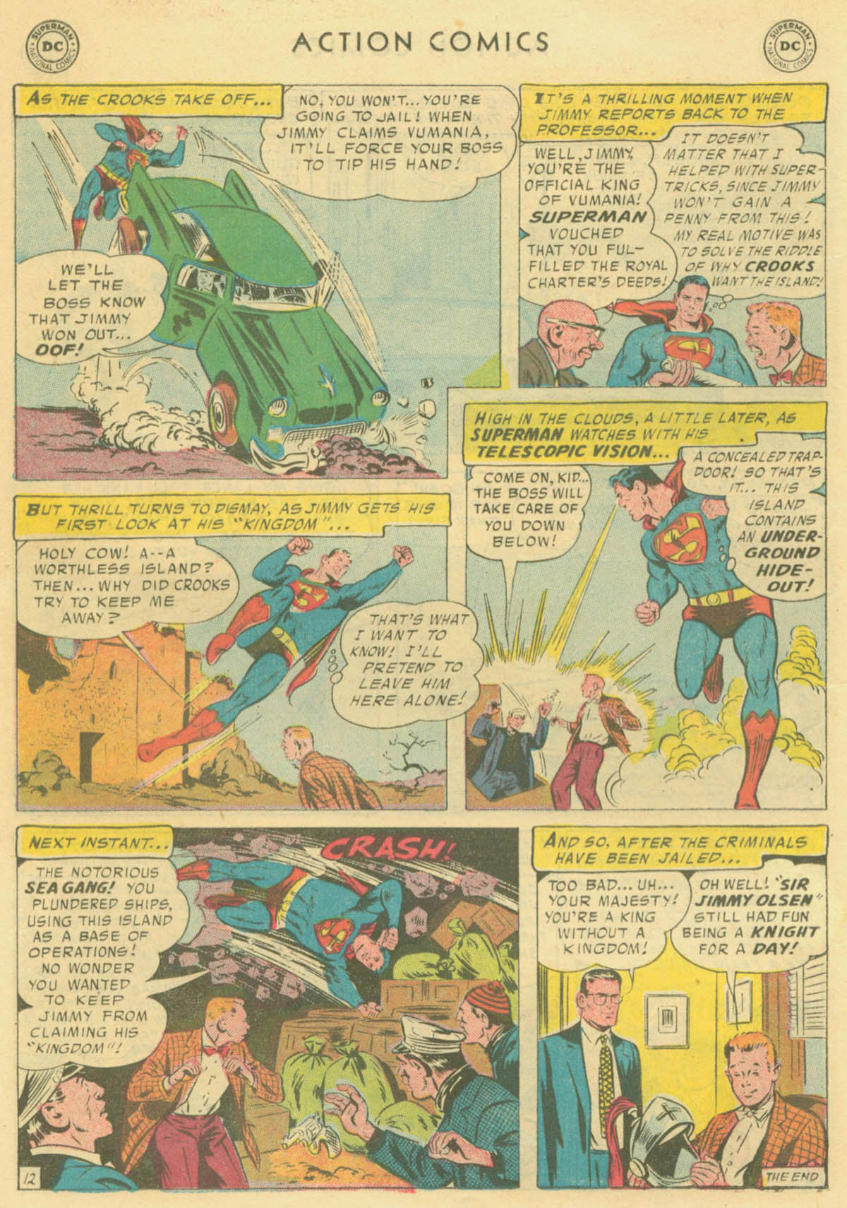 Read online Action Comics (1938) comic -  Issue #231 - 14