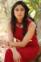 Telugu Actress Zahida Sam Latest Pos in Red Gown at RF Films New Movie Opening  0296.JPG