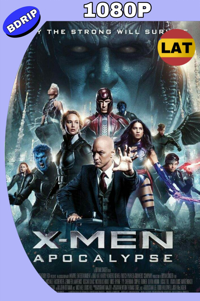 X-MEN: APOCALIPSIS (2016) BDRIP 1080P LAT-ING MKV