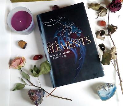 Cover von Dark Elements:Sehnsuchtsvolle Berührung