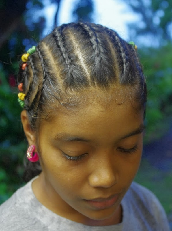 Fantastic Braids Amp Hairstyles For Super Long Hair Micronesian Girl Swirly Hairstyles For Women Draintrainus