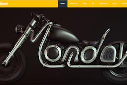 Free Download Bootstrap Template Yellow untuk company Profile