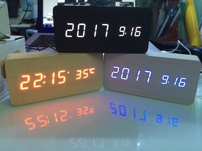 Đồng hồ trang trí để bàn X Edition - 8 bản nhạc báo thức