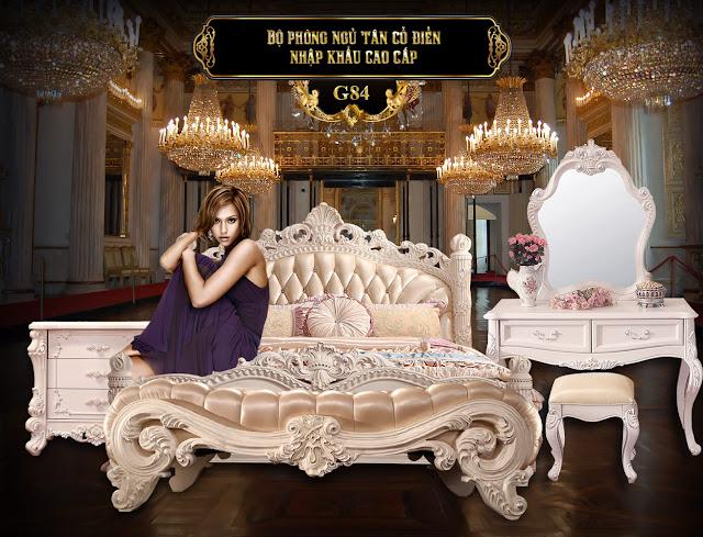 Giường ngủ G84