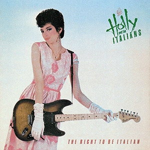 The right to be italian cover lp