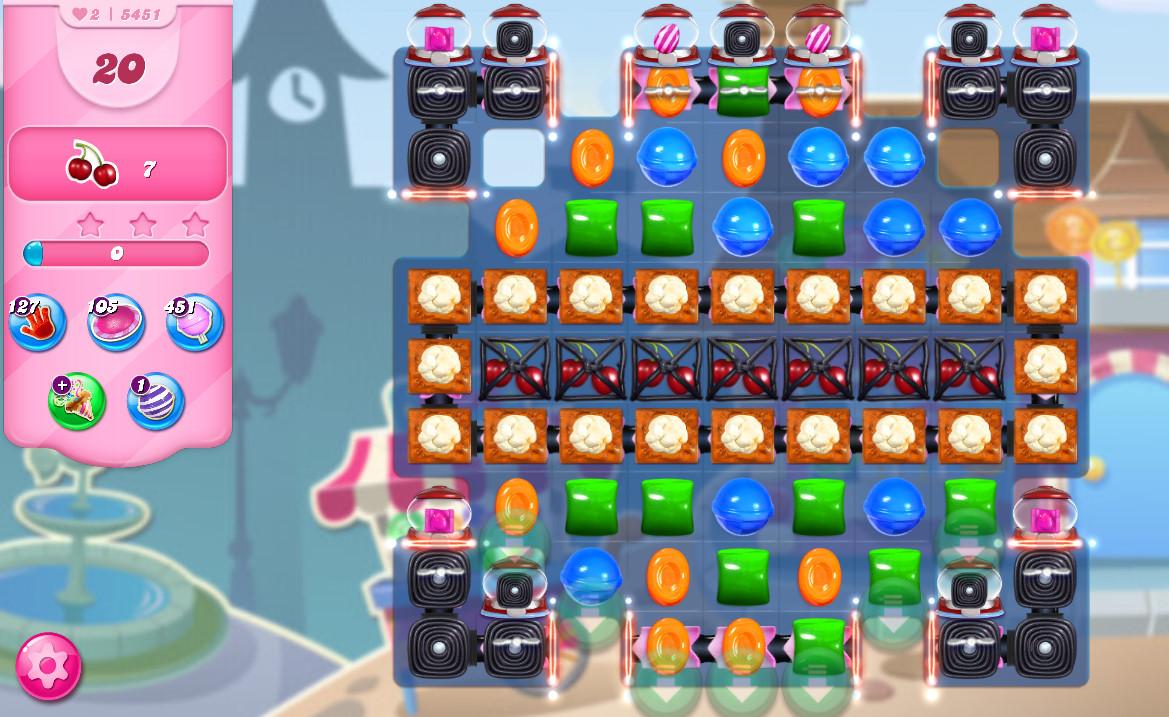 Candy Crush Saga level 5451