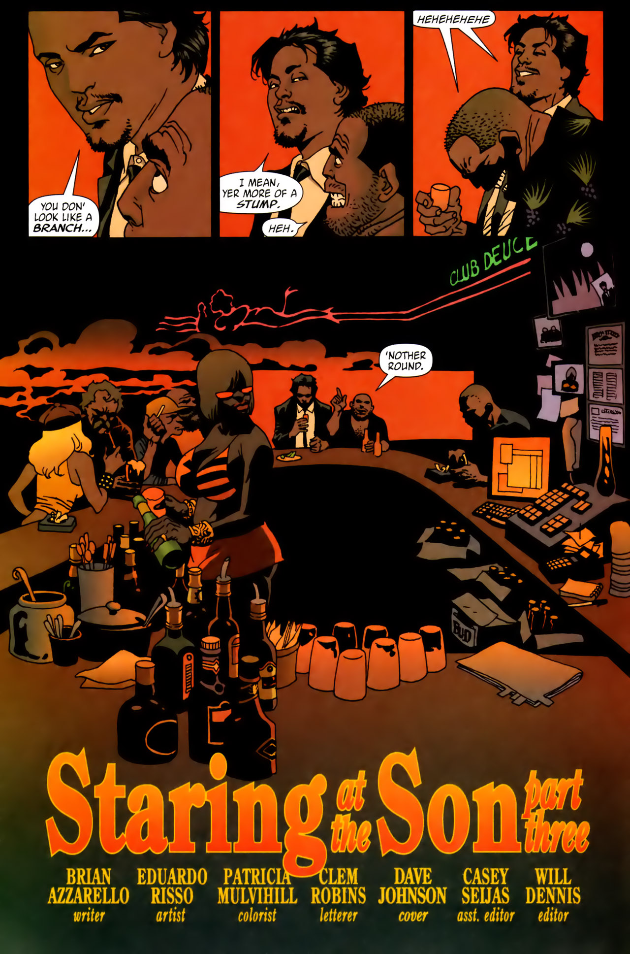 Read online 100 Bullets comic -  Issue #62 - 3