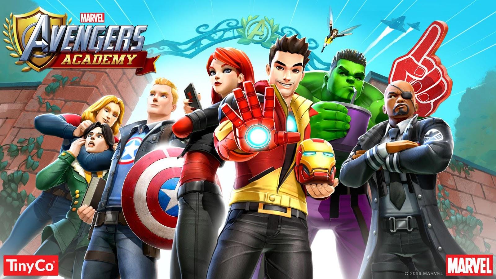 avengers academy apk mod