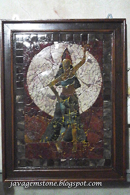 Mozaik Batu Akik Ratu Kidul