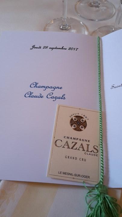 Découverte du Champagne Claude Cazals