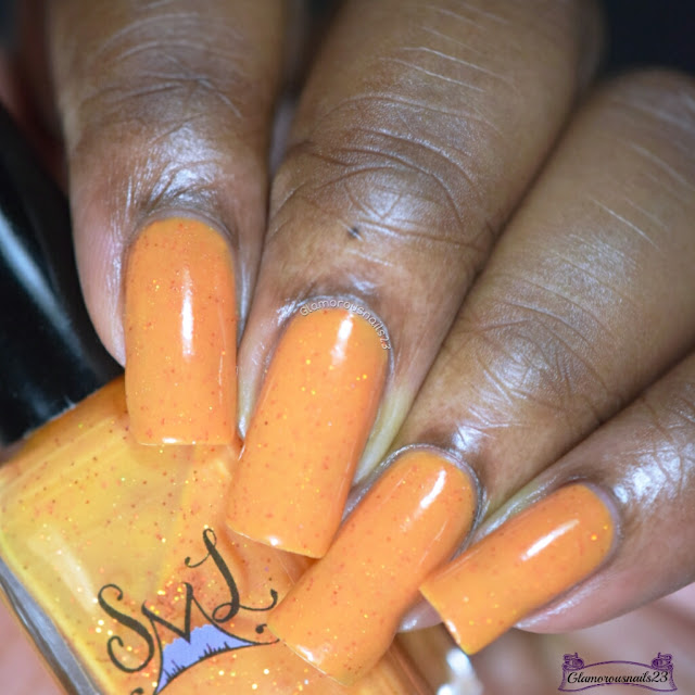 Smokey Mountain Lacquers Lala Orange