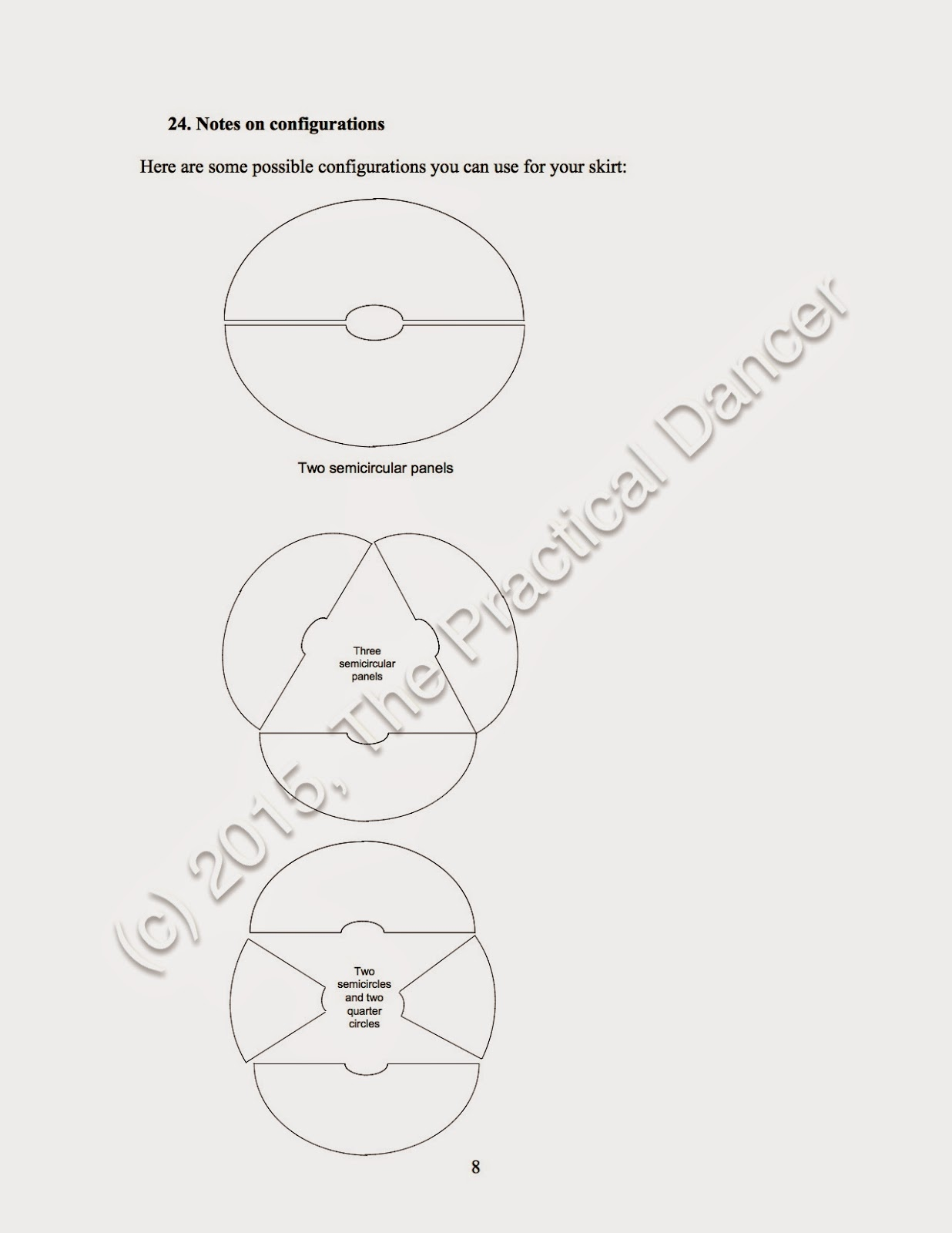The Practical Dancer Circle Skirt Patterns For Pi Day