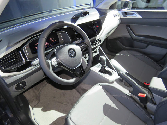 Volkswagen Virtus 2018 (Polo Sedan) - interior