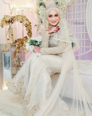 model hijab pengantin terbaru