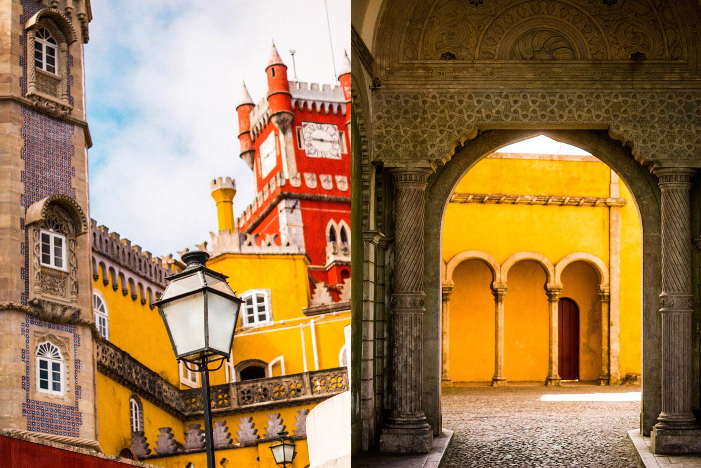 guide Sintra palais visite