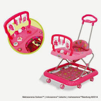 Baby Walker FAMILY FB1858LD MAINAN GANTUNG - TONGKAT DORONG