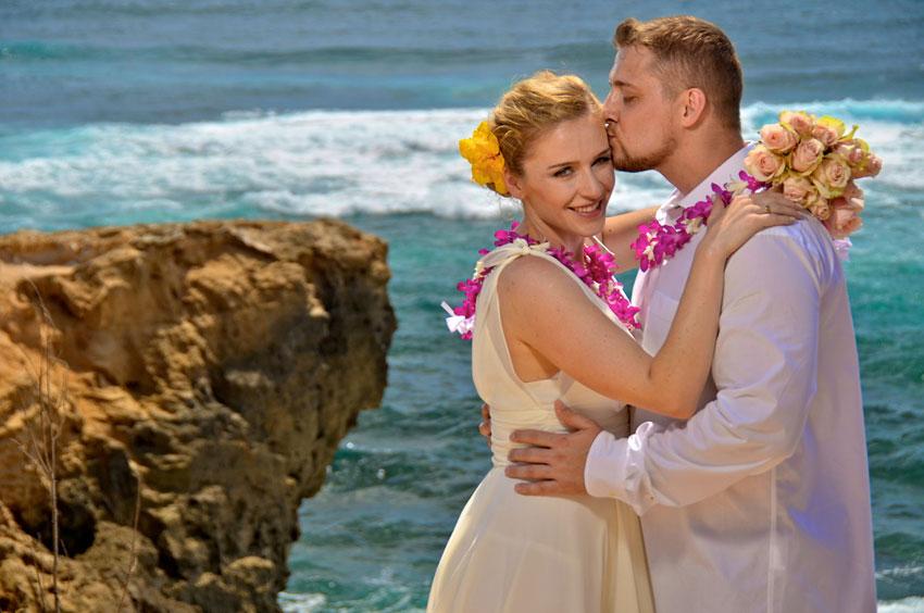 amazingexplore  Karolina & Lukasz Gorski Wedding by kauaiislandweddings.com