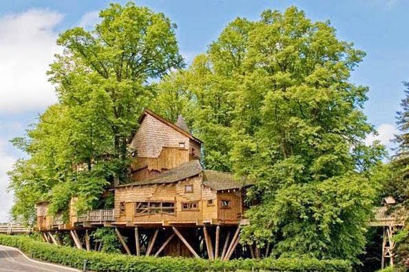 Tree House at Alnwick Gardens