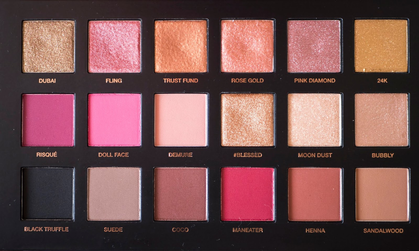 Huda Beauty Rose Gold Remastered