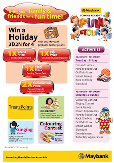 maybank - EVENT - [ENDED] Maybank School Holiday Fun Tour