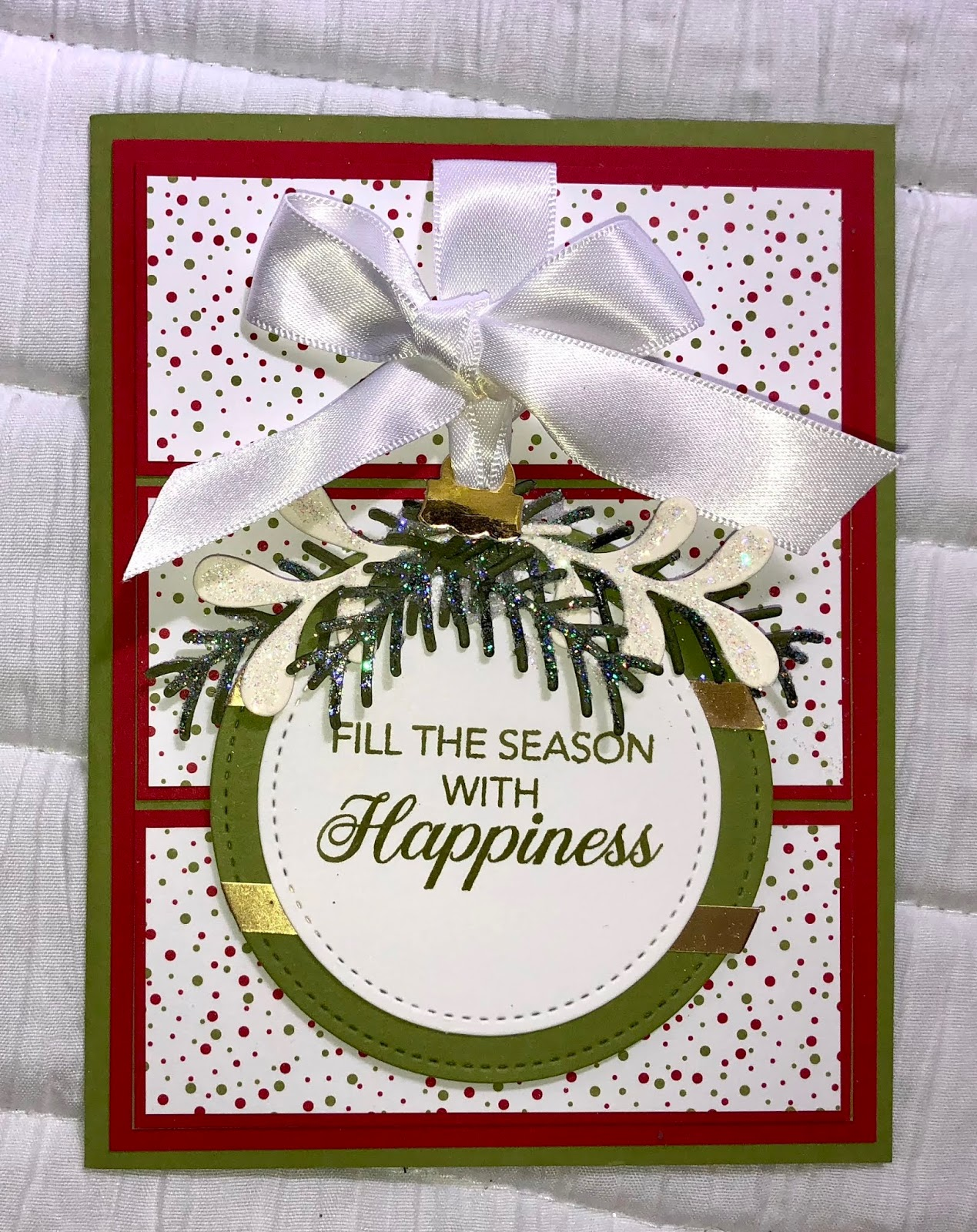 Barbs Paper Pizzazz A Christmas Card Early Fallaceful Noel