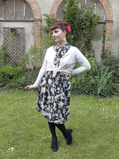 robe dorothy perkins à fleurs