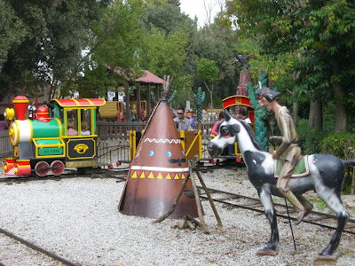 Tibidabo funfair in Barcelona is perfect for children