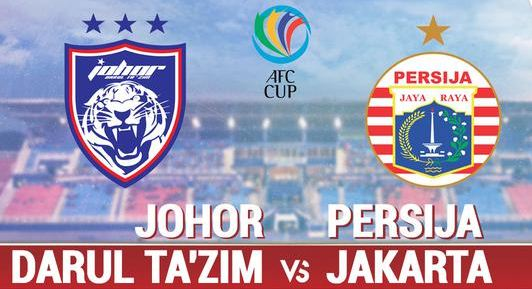 Live Streaming Johor Darul Takzim vs Persija Jakarta - AFC Cup