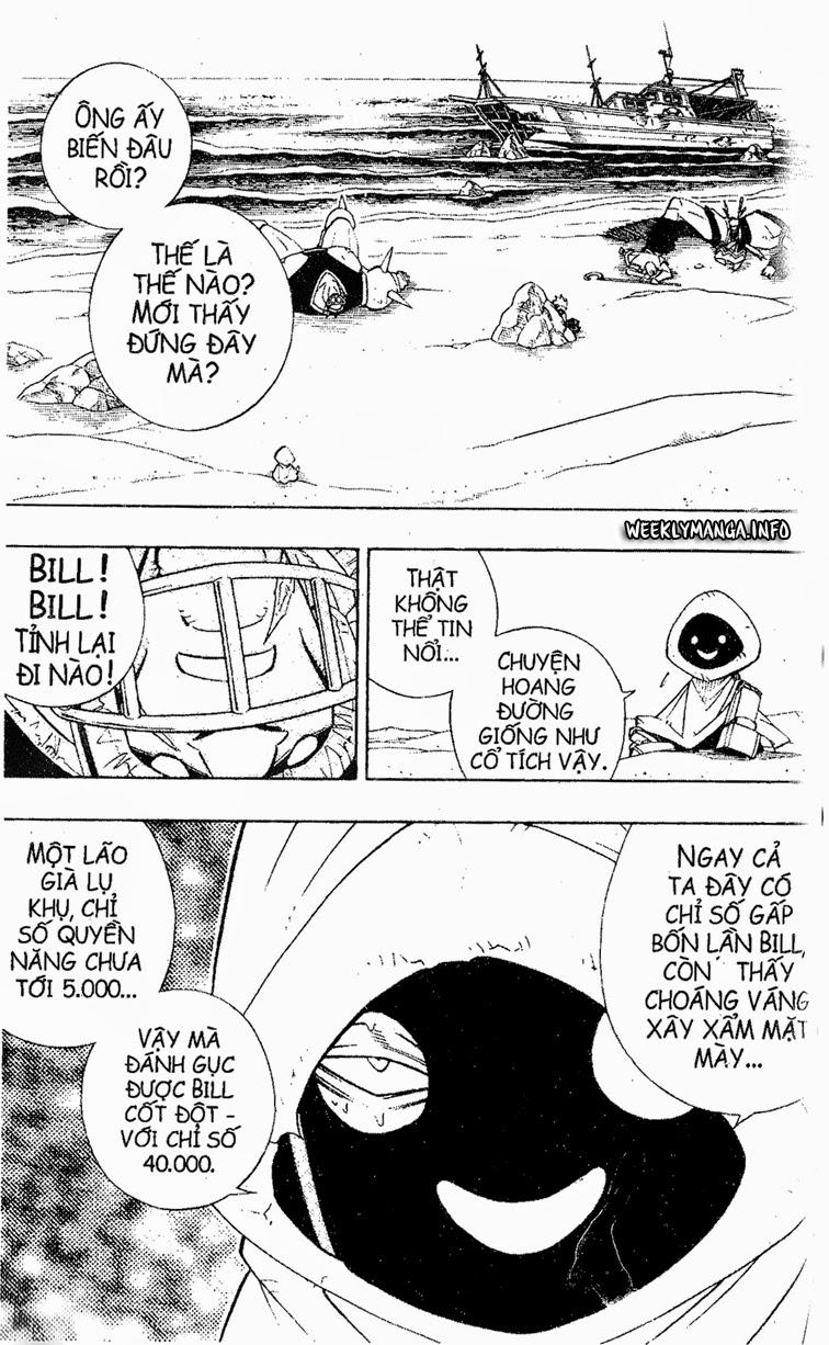 Shaman King [Vua pháp thuật] chap 184 trang 3