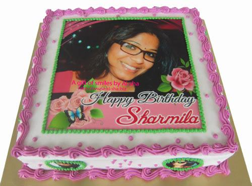 Birthday Cake Edible Image Barbie Aisha Puchong Jaya