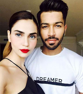 Hardik Pandya's girlfriend and future wife Lisha Sharma: