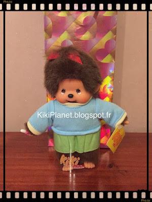Le petit Kiki Streetway fille en pull bleu/jupe verte - le kiki de tous les kiki - noel