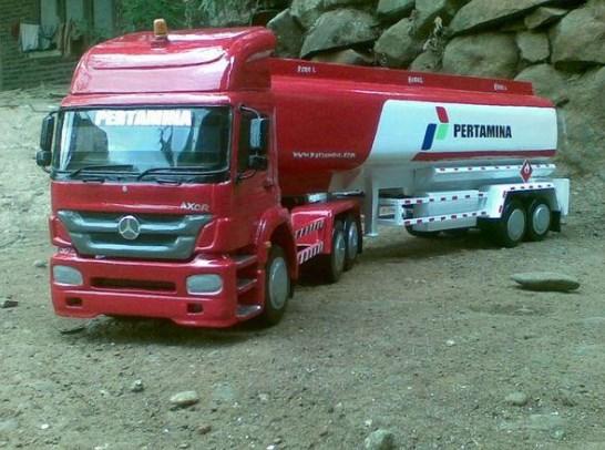 gambar pertamina mini truk