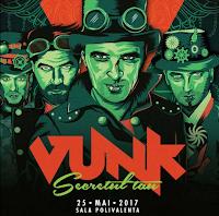 Castiga o invitatie dubla la concertul trupei VUNK de la Sala Polivalenta