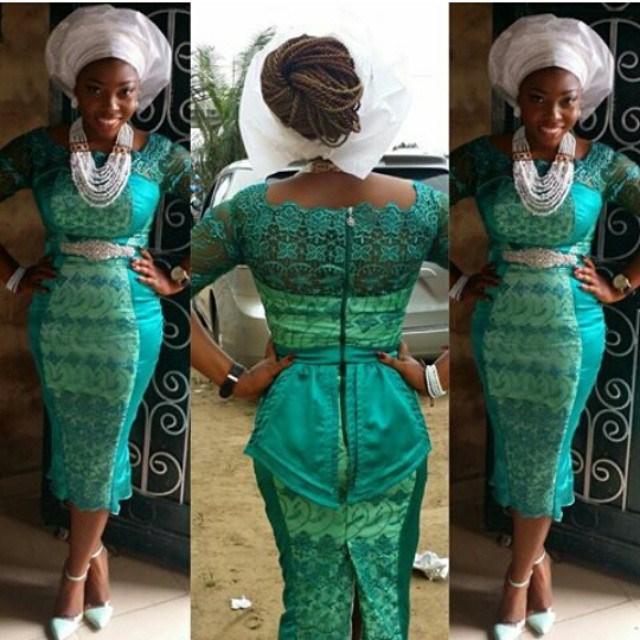 Creative Lace Short Gown Style Dezango