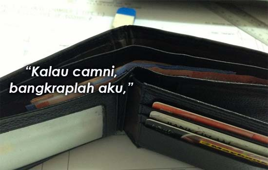 Kenapa lelaki tidak patut guna duit perempuan?