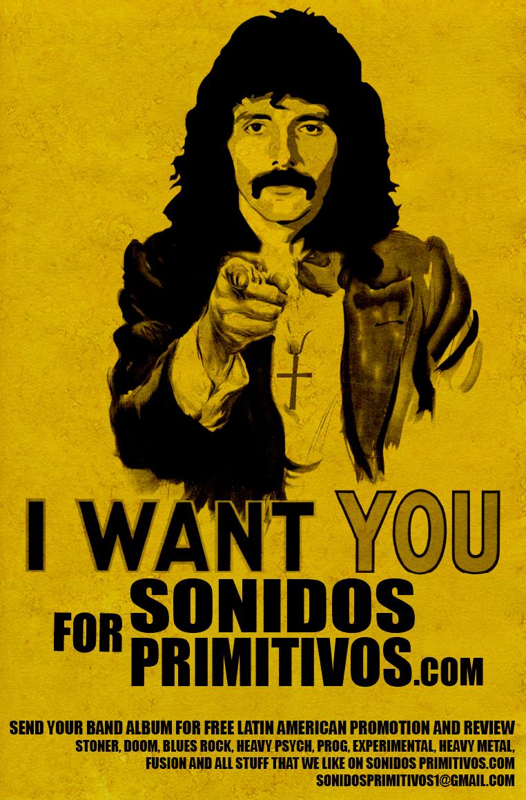 Sonidos Primitivos – 70's Heavy Rock, Kosmische, Prog, Fusion y