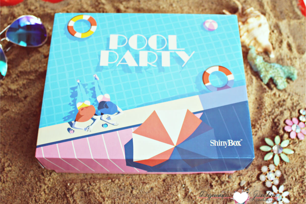 Shiny Box Lipiec 2017 Pool Party