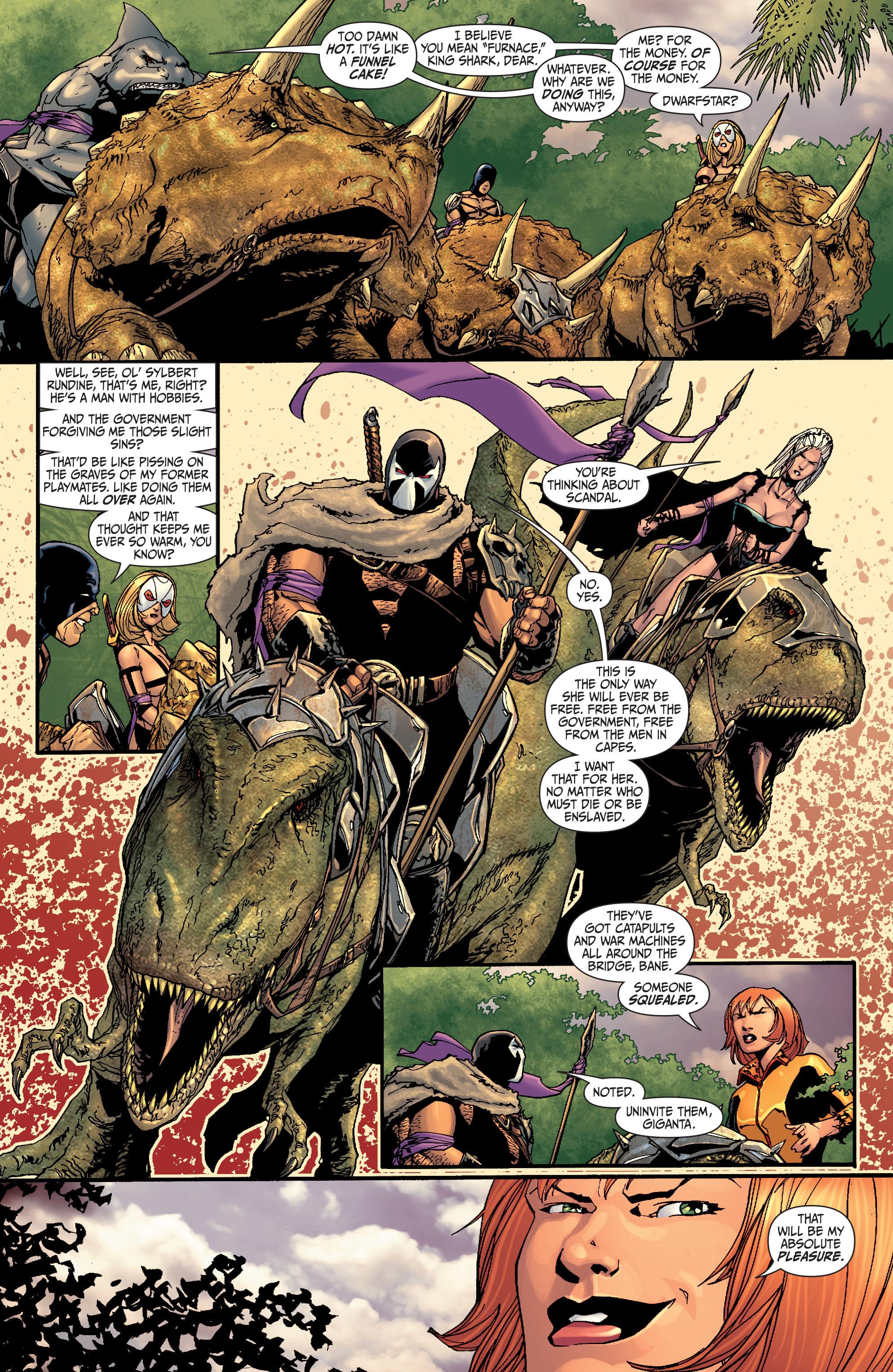 Read online Secret Six (2008) comic -  Issue #27 - 16