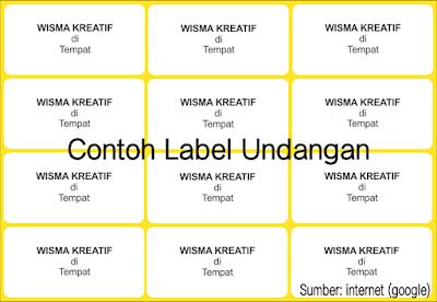 Jasa Pembuatan Label di Banjarmasin