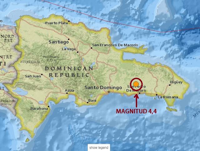 Un temblor de 4,4 se produjo